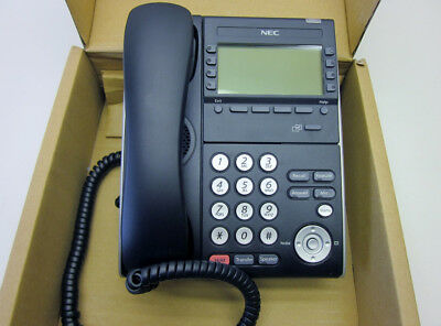 Nec Dt700 Series Itl-8lde-1 Black 8-button Ip Phone New