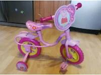 My first training bike - Peppa Pig