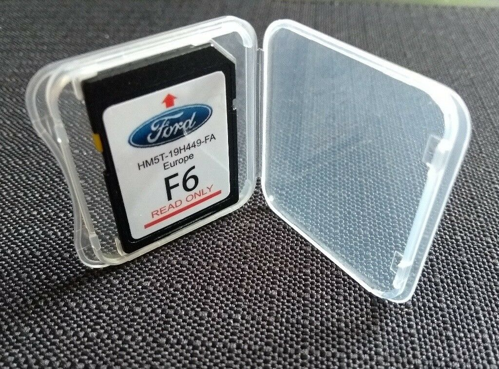 ford 2017/2018 f6 sync2 sd card navigation map (europe