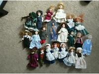 Dolls house pot dolls bundle