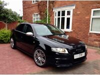 2007 Audi RS4 saloon 4.2 v8 phantom black not s3 s4 s5 s6 rs5 rs6 rs3 vw golf bmw mercedes px