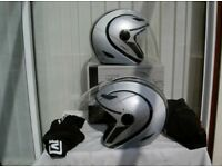 2 AGV Planet helmets For Sale