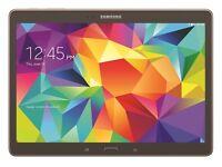 "Samsung galaxy tab S 10.5"" gold. Used cosmetic . £155 fix price"