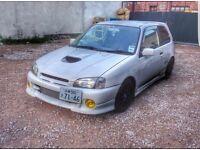 1998 Toyota Starlet Glanza V (b18,b16,civic,k20,typer)