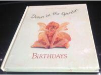 Anne Geddes Down in the Garden Birthday Book