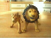 ELC / AAA animals - Family set of lions - set 1