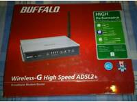 Buffalo wireless broadband modem router