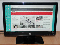 HP 2011x 20 inch LED Backlit Widescreen Monitor With VGA and DVI Inputs