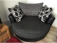 Large Cuddle Swivel Chair