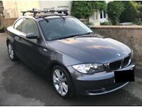 2008 BMW 1 series coupe, 120d, low mileage