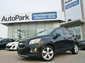 2014 Chevrolet Trax LTZ SUNROOF|HEATED LEATHER|REAR CAM|