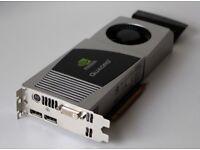 Nvidia Quadro FX4800 1.5GB PCI-E x16 Graphics Card
