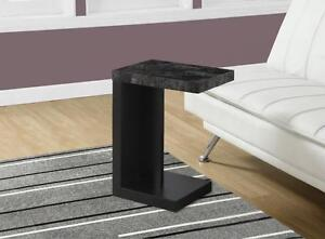 Black/Grey Accent Table
