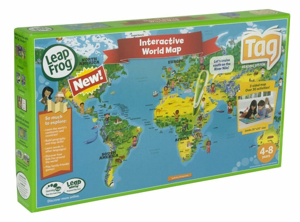 Leapfrog Interactive World Map.Leapfrog Interactive World Map In Solihull West Midlands Gumtree