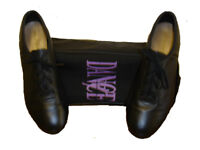 Tap Dance Shoes with bag. Size 5 1/2