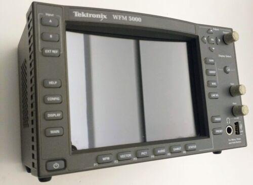 Tektronix Video WFM5000 HD/SD-SDI Multi-Standard Waveform Monitor