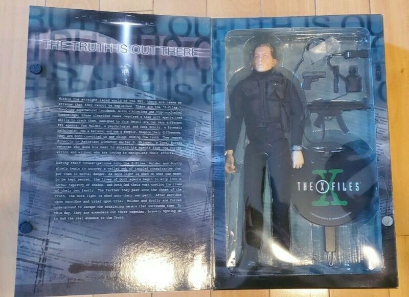 """X-files John Doggett Sideshow Collectibles 12"""" Figure"""