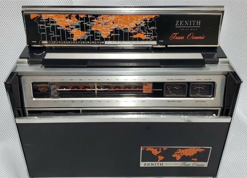 Vintage Zenith Trans Oceanic Radio Model R7000 - 2 AM/FM-SSB Shortwave Radio