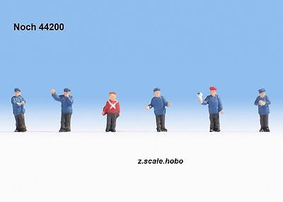 Noch 44200 Z Scale Figure Set Railroad Figures Workers Germany *NEW $0 SHIPPING