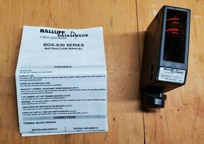 Balluff Datasensor Safety Photo Eye S30-1-c200t-1