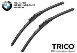 Trico Wiper Blade Pair Set for BMW E60 E61 E63 5-Series and 6 Series 2004-2009
