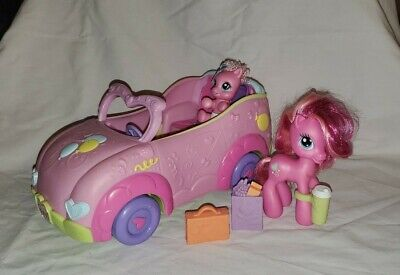 My Little Pony Newborn Cuties Family Convertible Car Playset Pinkie Pie