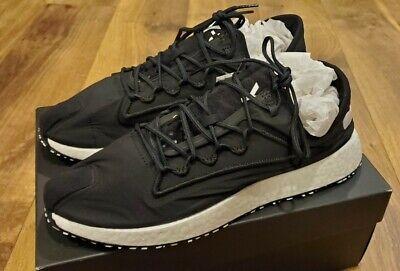 Adidas Y-3 Men's Ratio Black Runner, Size 9.5 US