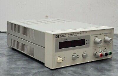 Hp E3610a 30w Dc Power Supply 8 V 3a 15v 2a - Tested W 5-digit Multimeter