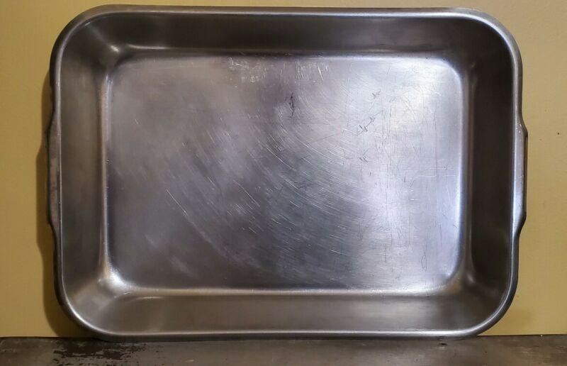 VOLLRATH 61250 Bake/Roast Pan,Stainless Steel,4-3/4 Qt.
