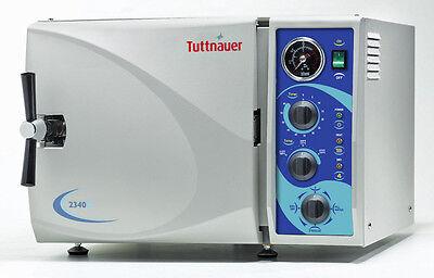 Tuttnauer 2340m Manual Autoclave Sterilizer Medical Dental Health 9 Chamber Fda