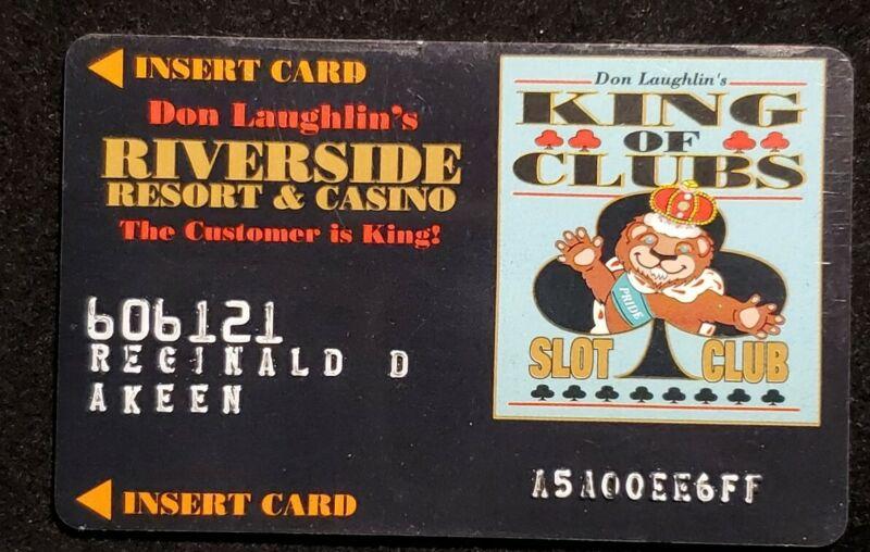 Player Slot Reward Card Riverside Resort Casino Laughlin