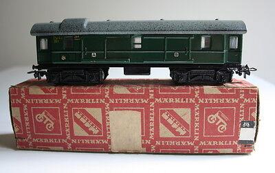 Märklin H0 344 D-Zug-Gepäckwagen mit Schiebetüren, 17,5 cm, Blech (297)