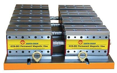 Earth Chain Ecb-210 Magnetic Workholding Vise 4620 Lb