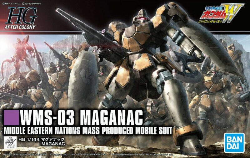 Bandai Hobby Wing Gundam HGAC #223 WMS-03 Maganac HG 1/144 Model Kit USA Seller