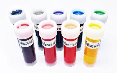 Pulver Lebensmittel Farbe (Lebensmittelfarbe essbare Farben Speisefarbe flüssig Softgel Pulver Metallik )