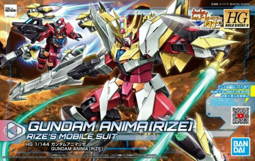 BANDAI BUILD DIVERSI HG 1/144 HGBDR #34 Gundam Anima RIZE Model Kit