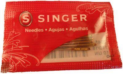5 Genuine Singer 14Sh, 14T, 14CG, 14J Serger Overlock Needle