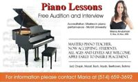 PIANO LESSONS in West Island