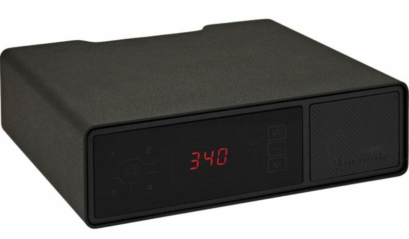 Hornady RAPiD Safe Night Guard RFID Pistol Safe Steel Black - 98215