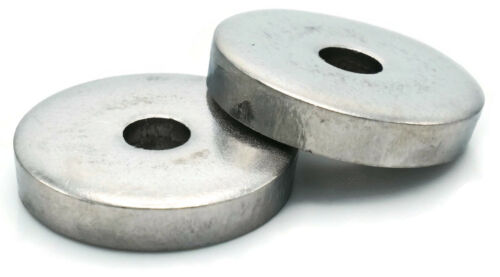"Stainless Steel Fender Washers Extra Heavy Thick Washers Inch Sizes 1/4"" - 1/2"""