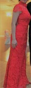 Red Lace Murmaid Murmaid shape (Small)