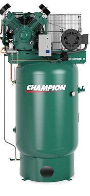 Champion Air Compressor Vrv10-12 10 Hp 120 Gal Three Phase 460 Volt