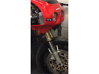 Zxr400 usd forks and yolks nc30?