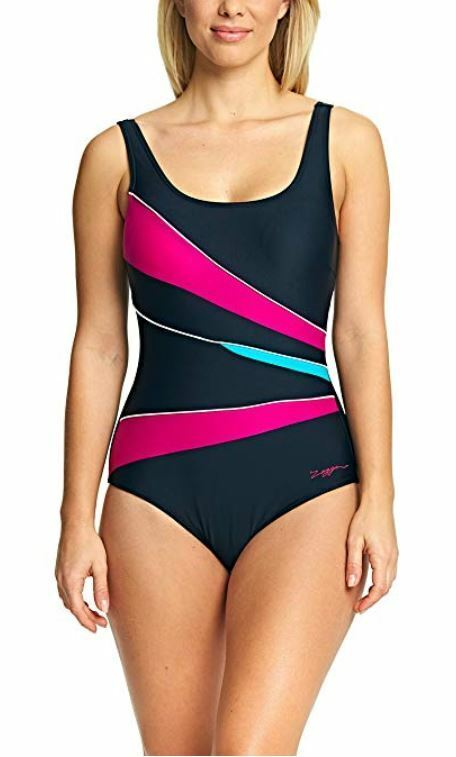 Swim Suit Swimshape Range Zoggs Women/'s Lux Sport Crossback Swimming Costume
