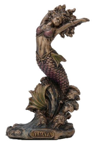 3.5 Inch Orisha Yemaya Statue Santeria Lucumi African Goddess of The Ocean