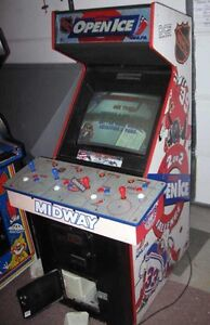 Wanted NHL OPEN ICE ARCADE MACHINE