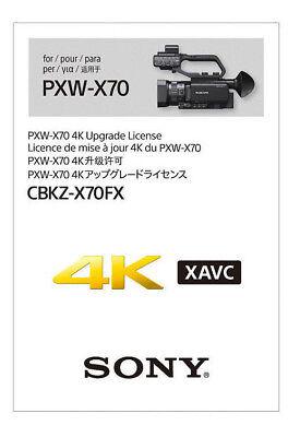 Sony CBKZ X 70 FX - 4K upg.für Sony PXW X 70 *NEU* vom Sony Fachhändler online kaufen