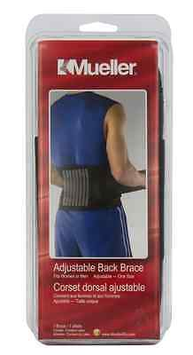 Mueller Sport Care Adjustable Back Brace Lumbar Support O...