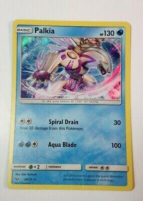 Palkia 24//73 SM Shining Legends HOLO Pokemon Card NEAR MINT