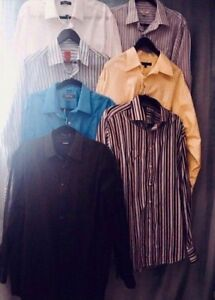 MOVING SALE DRESS SHIRT PANTS LOT